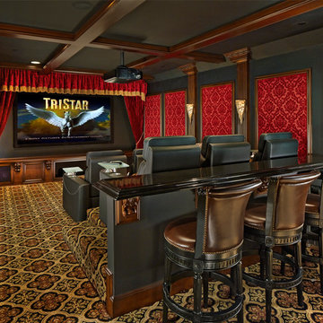 Home Theater and Media Room $150,000 and over