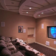 contemporary media room Home Theater, best Home Theaters - Page 3 - Zillow Home Improvement