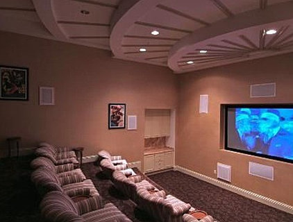 Contemporary Home Theater Home Theater, best Home Theaters - Page 3 - Zillow Home Improvement
