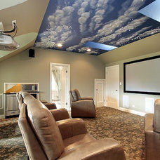 Traditional Home Theater by Dreamedia Home Theater