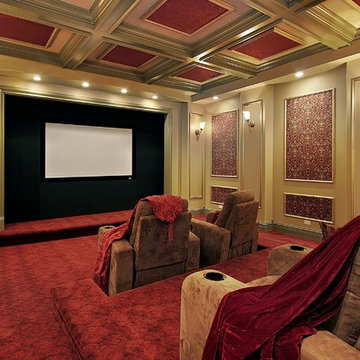 Home Theater Design Ideas by Dreamedia