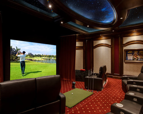 Best Home Theater Design Ideas   Remodel Pictures   Houzz SaveEmail  Millennium Systems Design. Home Theater Design Ideas. Home Design Ideas