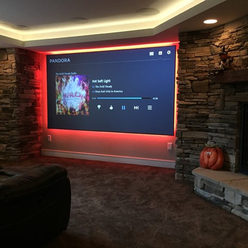 Home Theater I Home Entertainment Spaces