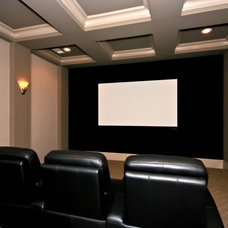 Traditional Home Theater Home Theater