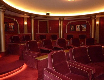 Home Theater in Newport Beach