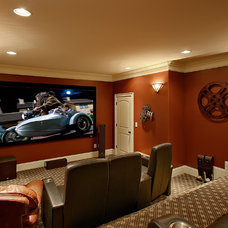 Traditional Home Theater by iSS LLC