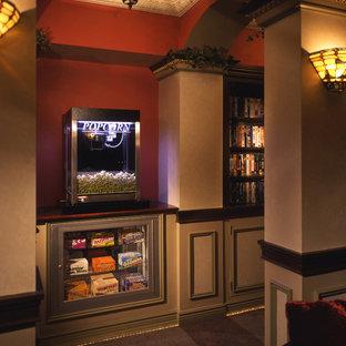 Новые идеи обустройства дома: домашний кинотеатр в классическом стиле