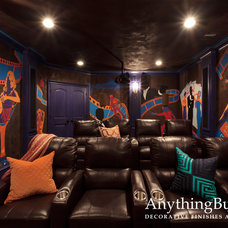 Home Theater by Anything But Plain, Inc.