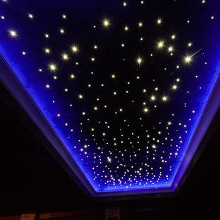 Home Theater Room - Night Sky