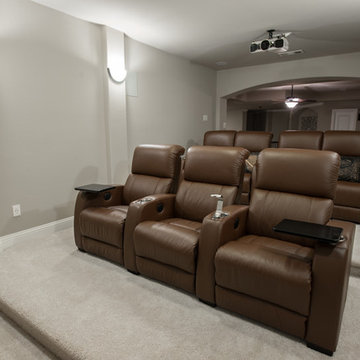 "Home Theater Seating, Loveseat Style, Palliser ""HiFi"""
