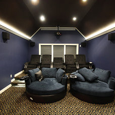 Traditional Home Theater by Specialized Home Improvements LTD