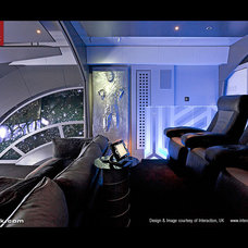 Modern Home Theater by Cineak Custom Home Theater Seats