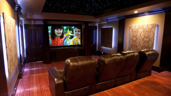 Home Theater with 3D Sky Ceiling