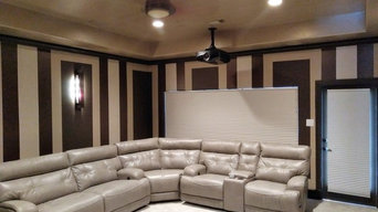 Home Theater with Sectional