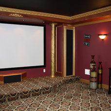 Traditional Home Theater by Your Remodeling Guys