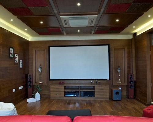 Indian Home Theatre Design Ideas, Renovations & Photos   Houzz