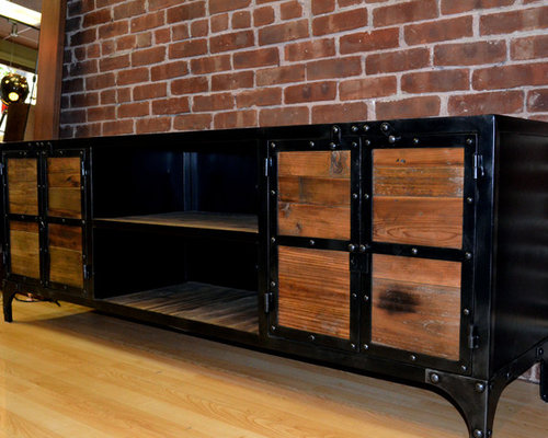Industrial Entertainment Center Ideas Pictures Remodel And Decor
