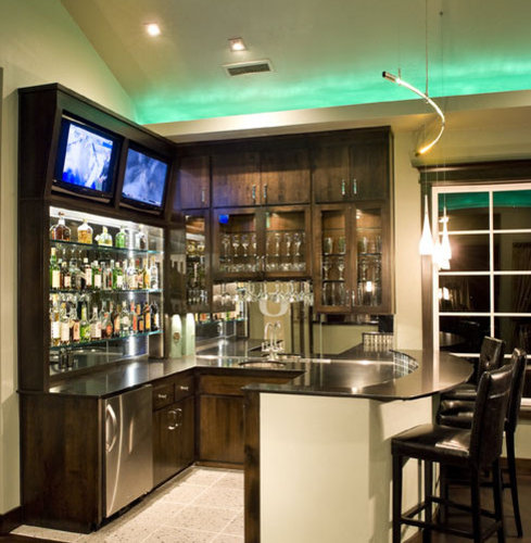 Home Bar Design Ideas Houzz: Game Room Bar Home Design Ideas, Pictures, Remodel And Decor
