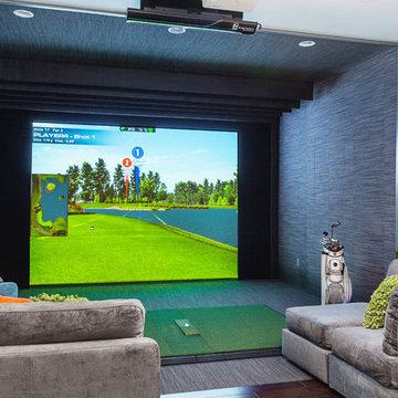 Innovation House 2013 - Media Room Golfing