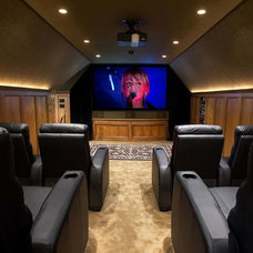 Home Theater by Barkley Photography