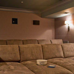 traditional media room by Audio Concepts