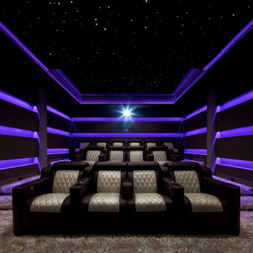 Interior Design Ideas For Home Theater: 75 Modern Home Theater Design Ideas