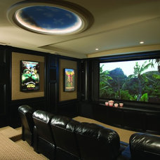 Home Theater by Catalyst Architects, LLC