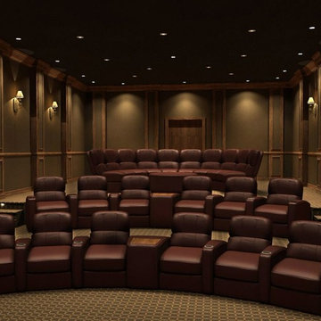 Large Rounded Theater