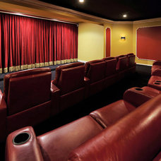 Traditional Home Theater by Distinctive Designs By Janelle