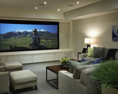 Multiple Tv Media Room Home Design Ideas, Pictures ...