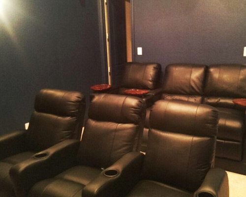 . Dallas  TX Theater Seating with Built in Riser