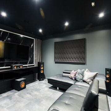 LED Theater Room
