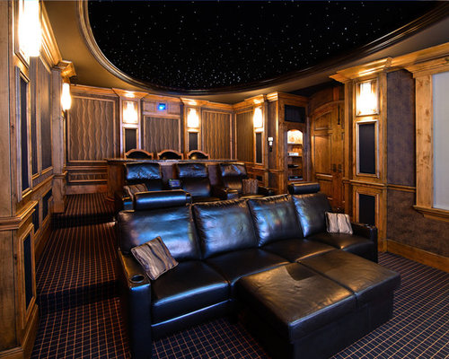 best home theater design ideas remodel pictures houzz - Home Theater Design Ideas