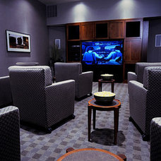 Home Theater by O'Sullivan Architects, Inc