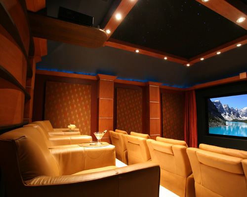 home theatre wallshouzz - Home Theater Lighting Design