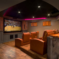 Traditional Basement by CHC Creative Remodeling
