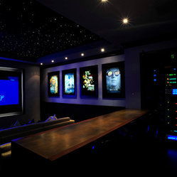 Dallas Media Room Design Ideas, Pictures, Remodel and Decor