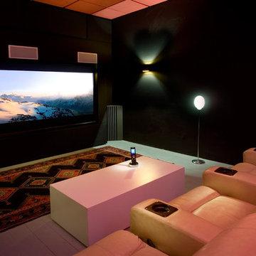 madia room