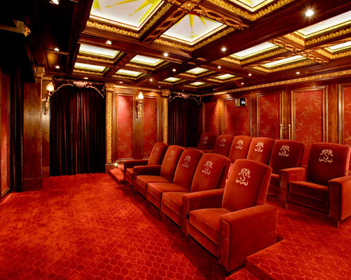Home cinema design ideas pictures remodel and decor for 420 room decor