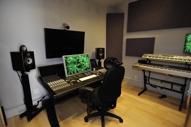 Garden shed recording studio marskal for Recording studio design software