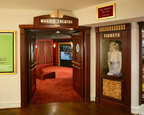 Home Theater Ticket Booth Home Design Ideas, Pictures, Remodel and ...