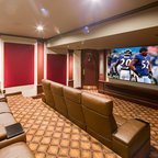 Malibu Home Theaters Traditional Home Theater Other