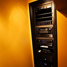 Craftsman Home Theater Martin Theater - A/V Room/Rack