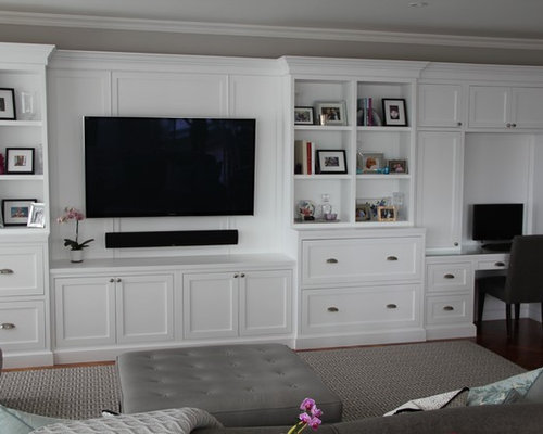White Wall Unit Ideas Pictures Remodel And Decor