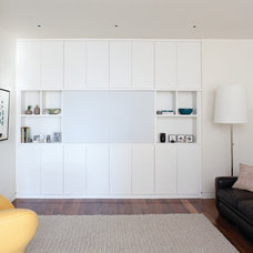 Contemporary Home Theater by California Closets
