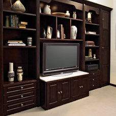 Traditional Home Theater by California Closets