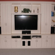 Traditional Home Theater by Closet Tec Inc