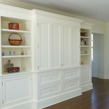Built-in Media Cabinet Design Ideas, Pictures, Remodel and Decor