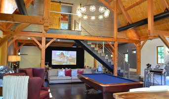Media/Game Room - Converted Barn in Harding, NJ