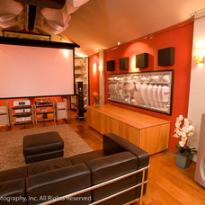 Asian Home Theater by Concept Electronics